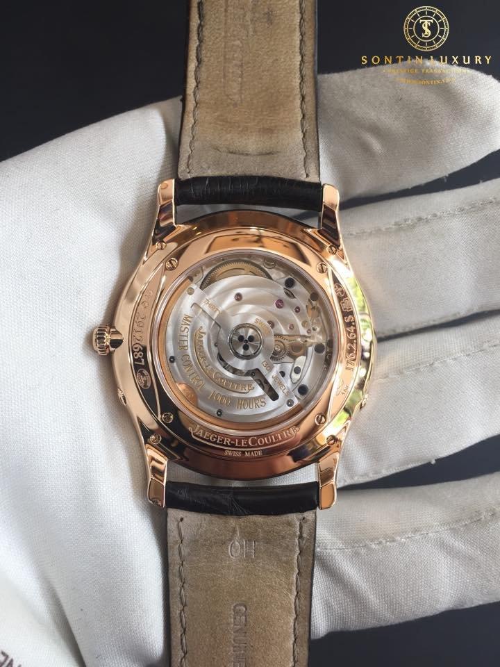 Jaeger-LeCoultre - Master Ultra Thin Moon 39 Rose Gold Diamond