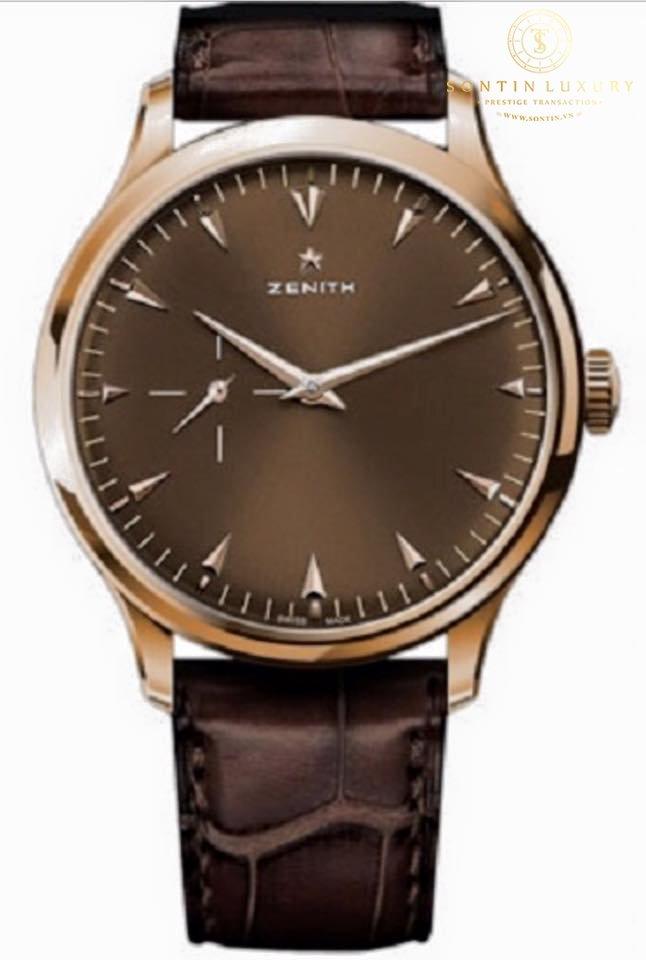 Zenith El Primero Ultra Thin Small Seconds Like New Full Set