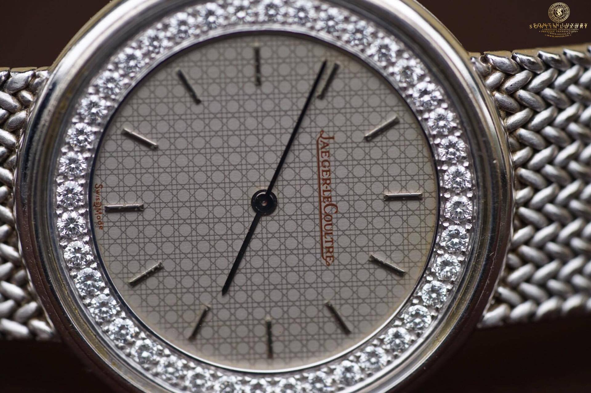 Jaeger-LeCoultre White Gold Diamond Original
