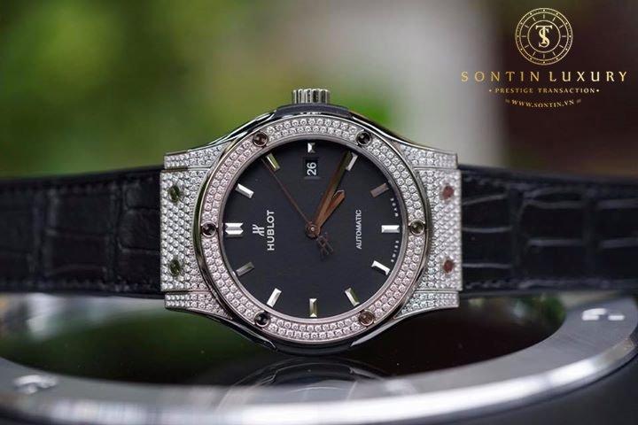 Hublot Classic Fusion Titanium Diamond New 2017