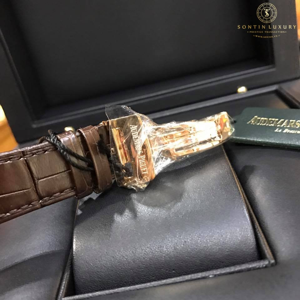 Audemars Piguet Royal Oak Chocolate Dial New Design 2017