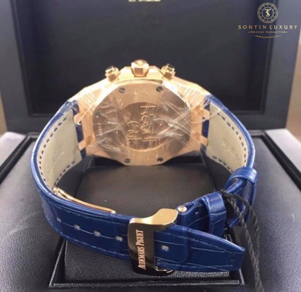 Audemars Piguet Royal Oak New Design 2017 Navy Dial