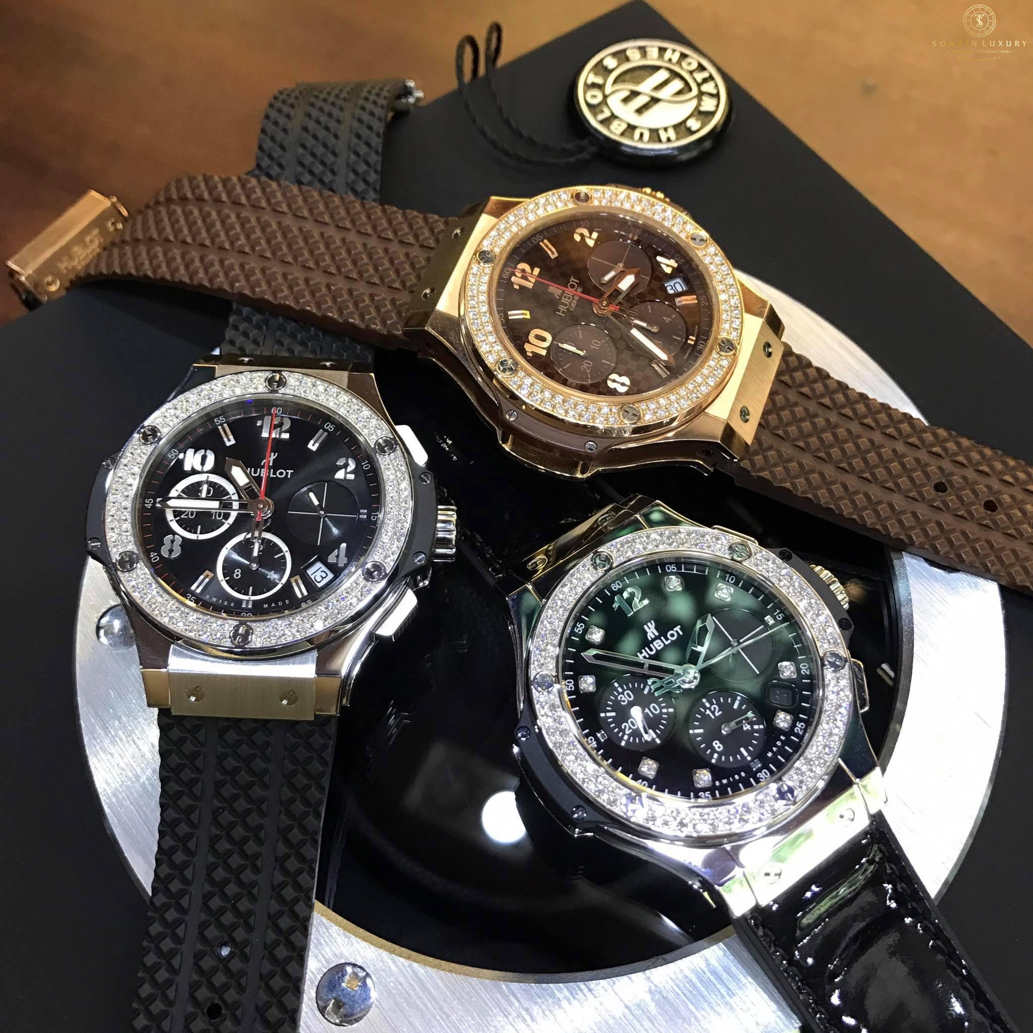 Hublot Big Bang Shiny Steel Watch 41mm 341.SX.1270.VR.1104