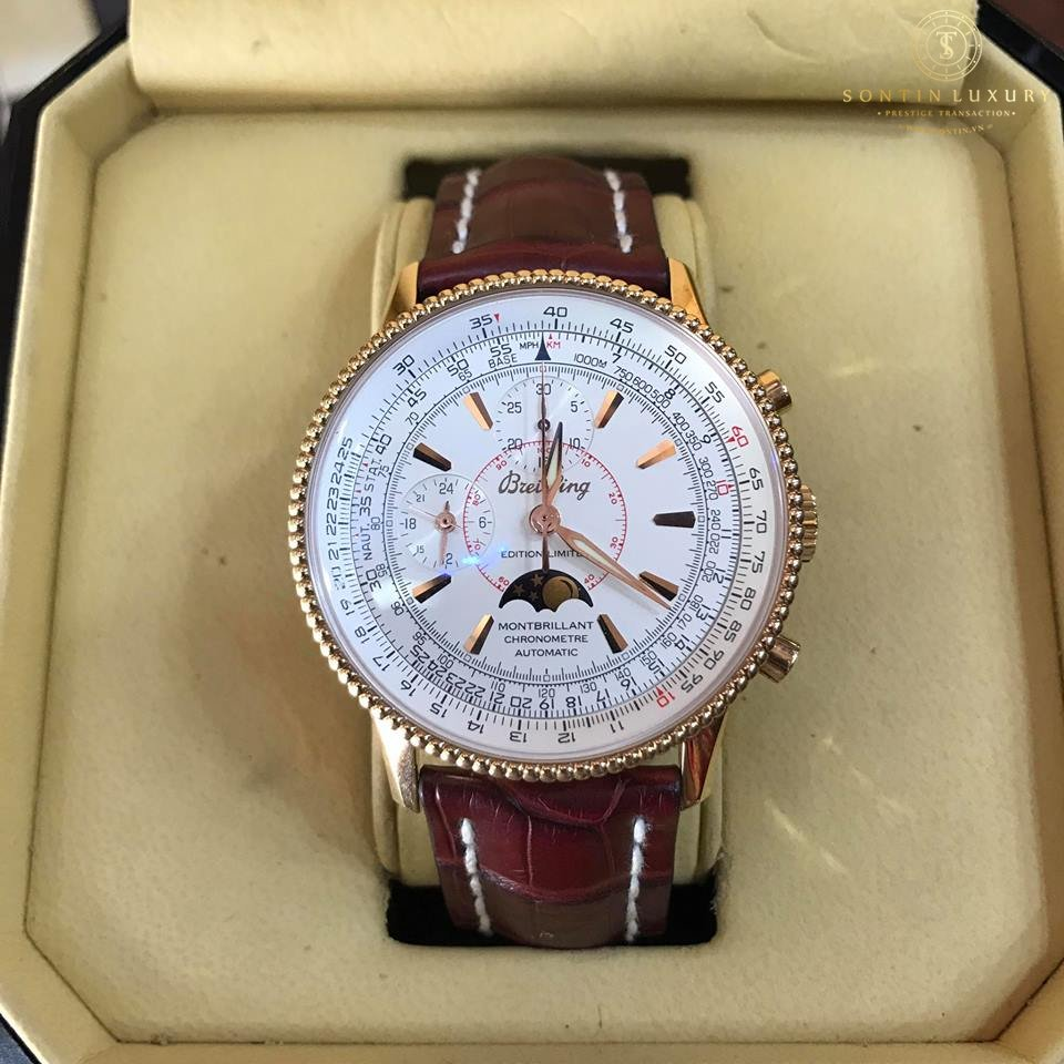 Breitling Montbrillant Moon Phase Limited Edition Japan 2003