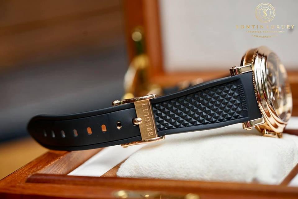 Breguet Marine Chronograph 18K Rose Gold 42mm Like New
