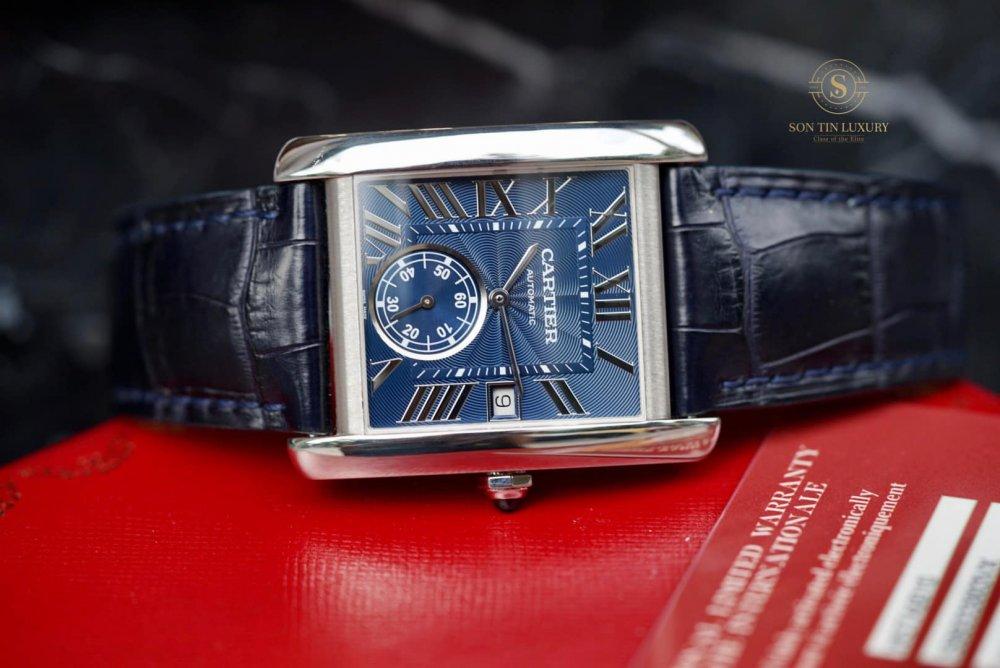 Cartier Tank MC watch,Tank MC watch WSTA0010, 44 x 34.3 mm