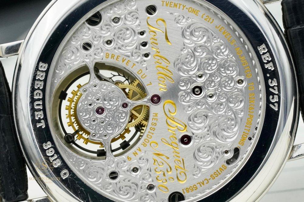 Breguet Tourbillon Perpetual Calendar Retrograde Platinum 950 - Like New - Full Box
