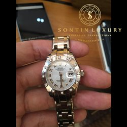 Rolex Perpetual Lady Datejust Pearlmaster