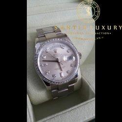 Rolex 118239 Day-Date White Gold