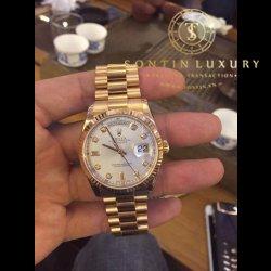 Rolex Day-Date 118235 Rose Gold Seri M