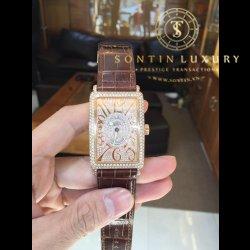 Franck muller Long Island 1000SC Rose Gold Custom Diamond