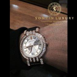 Harry Winston Rose Gold Custom Diamond