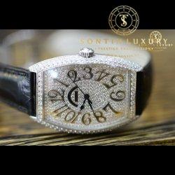 Franck Muller 6850 SC White Gold Custom Diamond