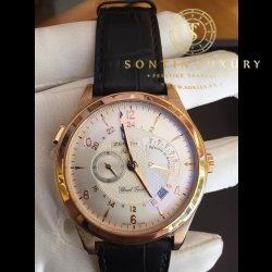 Zenith dual time Rose gold 44mm