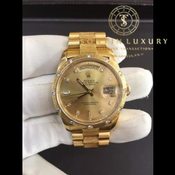 Rolex DayDate 18308 Yellow Gold 5 Số
