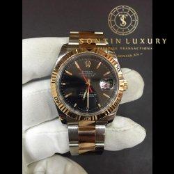 Rolex DateJust 116261 Seri F Demi Rose Gold