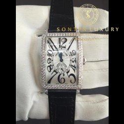 Franck Muller Long Island 950 S6 White Gold Custom Diamond