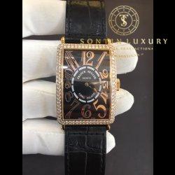 Franck Muller Long Island 1200 SC Rose Gold Custom Diamond
