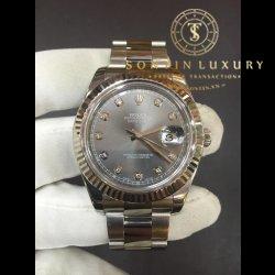 Rolex DateJust 116334 Đời 6 số Seri W