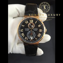 Ulysse Nardin Chronometer Rose Gold