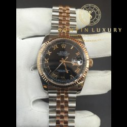 Rolex DateJust 116231 Demi 6 Số Rose Gold Seri M