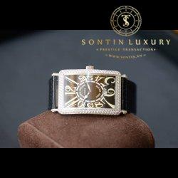 Franck Muller Long Island 1150 SC DT White Gold Custom Diamond