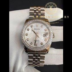Rolex DateJust 116244 Seri Y Steel Diamond