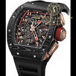 Richard Mille Watches RM 011 NTPT Lotus F1 Team Carbon Brand New