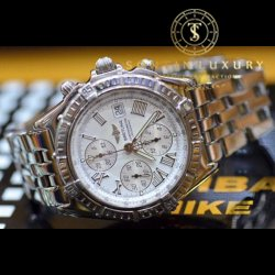 Breitling Chronograph Stainless Steel