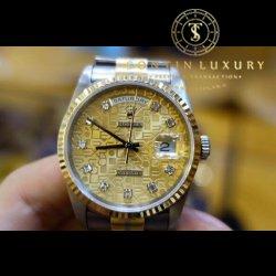Rolex Day-Date 18239 Vàng 3 Màu
