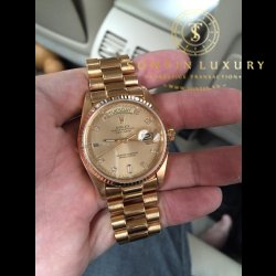Rolex 18038 Day-Date Yellow Gold