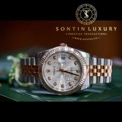 Rolex DateJust 116231 Demi Rose Gold New 2016 Fullbox
