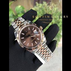 Rolex Datejust II 126331 Demi Rose Gold New 100%