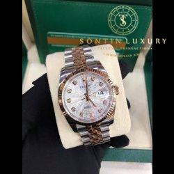 Rolex Datejust 116231 Demi Rose Gold 36mm