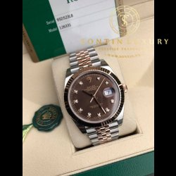 Rolex Datejust 126331 Demi Rose Gold 41mm New 100% - Full Box 2017