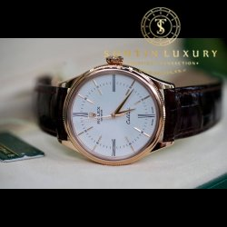 Rolex Cellini Time 50505 Rose Gold 39mm Like New - Full Box