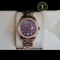 Rolex Watches - Day-Date Special Edition Tridor Masterpiece White Gold & Rose Gold 39mm