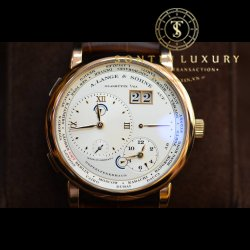 A.Lange & Söhne Time Zone Rose gold 41.9mm Like new