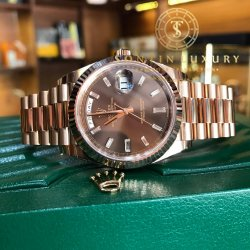 Rolex Oyster Perpetual Day-Date 40mm Rose Gold New 2017