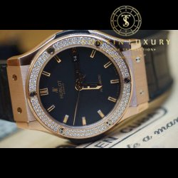Hublot Classic Fusion Rose Gold Diamond