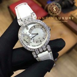 Harry Winston Premier Archive Premier Excenter 18K White Gold Original Diamond 37mm