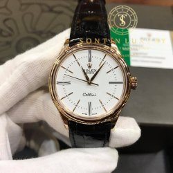 Rolex Cellini Rose Gold Time