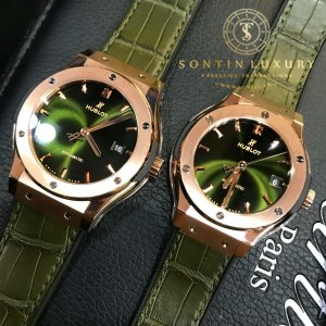 Hublot classic fussion rose gold new dial