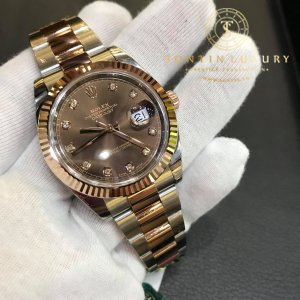 Rolex Datejust II 126331 Demi Rose Gold 41mm New 2018