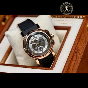 Breguet Marine Chronograph 18K Rose Gold 42mm Like New