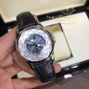 Patek Philippe Complicated Watches 5130 Like New Platinum 950