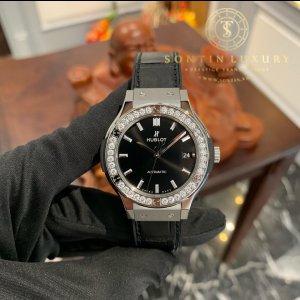 Hublot Classic Titanium 38mm  Diamond 2019