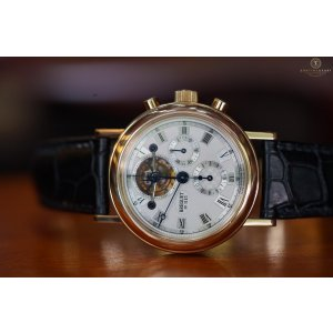 Breguet Tourbillon Chronograph Yellow Gold 38.5mm