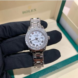 Rolex Oyster Perpetual Datejust 80139 Watch Option Diamond Benzel