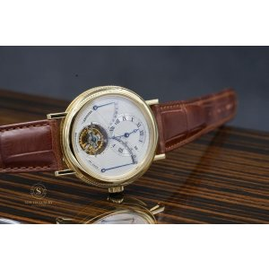 Breguet Tourbillon power reserve retrograde 24 hours